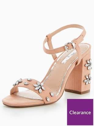 Miss KG Jewelled Shimmer Block Heel