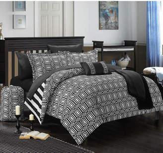 Chic Home Paris 8-Pc Twin X-Long Comforter Set Bedding