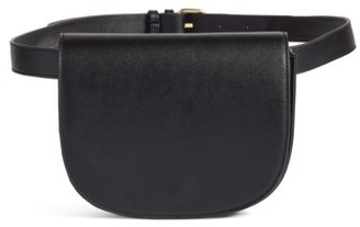 Bp. Faux Leather Saddle Belt Bag - Black $29 thestylecure.com