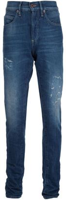 Off-White striped leg jeans $662.26 thestylecure.com