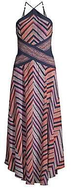 Ramy Brook Women's Percey Printed Halter Dress