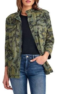 DL Military Cotton Blend Jacket