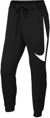 Nike Men's Mixed Media Logo Sweatpants $60 thestylecure.com