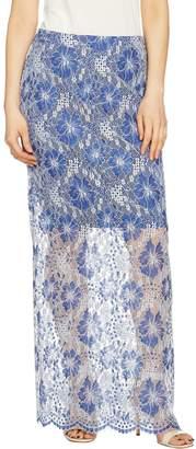G.I.L.I. Got It Love It G.I.L.I. Petite Lace Maxi Skirt