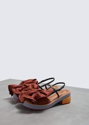 Marni Bow Wrap Sandal