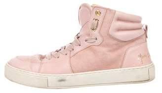 Saint Laurent Malibu High-Top Sneakers