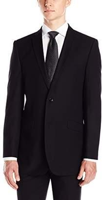 Adolfo Men's Slim Fit Micro Tech Suit Jacket