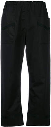 Sofie D'hoore cropped elasticated trousers