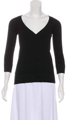 Dolce & Gabbana V-neck Long Sleeve Sweater