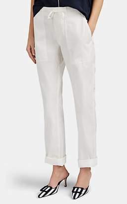Alex Mill Women's Ripstop Drawstring Trousers - White
