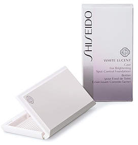 Shiseido (資生堂) - [資生堂 ホワイトルーセント]ブライトニング スポットコントロール ファンデーション用ケース