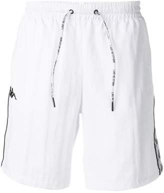 Kappa logo print running shorts