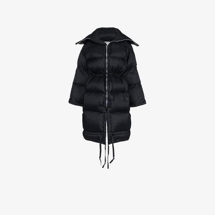 down filled puffer coat