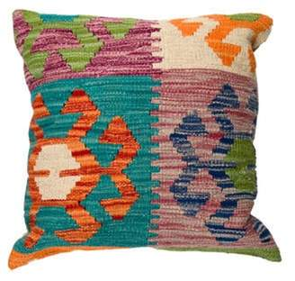 Throw Pillow Abstract Wool Throw Pillow Teal Throw Pillow Abstract Wool Throw Pillow