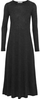 Autumn Cashmere Mélange Cashmere Midi Dress