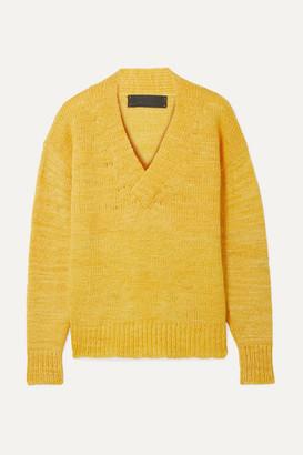 The Elder Statesman Cashmere Sweater - Yellow