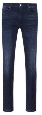 HUGO Boss Skinny-fit jeans in blue stretch denim 32/32 Dark Blue