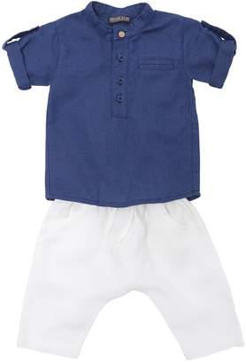 Cotton & Linen Shirt & Pants