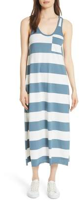 ATM Anthony Thomas Melillo Stripe Mercerized Jersey Dress