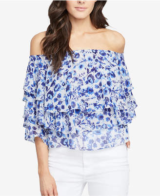Rachel Roy Tiered Off-The-Shoulder Top, Created for Macy's