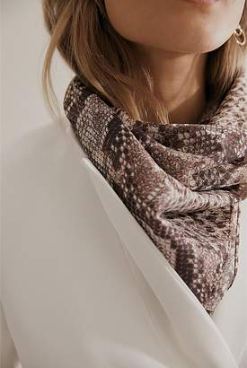 Country Road Snake Square Scarf
