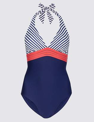 Marks and Spencer Secret SlimmingTM Halterneck Swimsuit