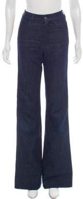 Prada Mid-Rise Wide-Leg Jeans