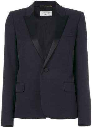 Saint Laurent tailored fitted blazer