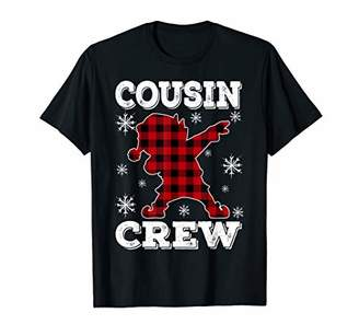 Cousin Crew ELF Dab Gift Family Matching Christmas Ugly T-Shirt