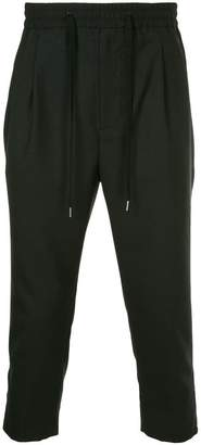Monkey Time Cropped Drop Crotch Trousers