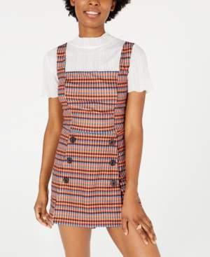 Fishbowl Juniors' Plaid Skort Dress
