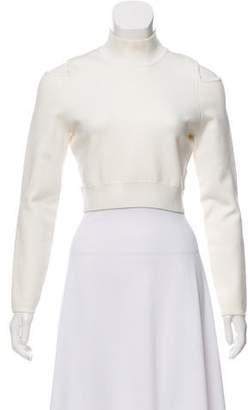 Jonathan Simkhai Cropped Cutout Sweater