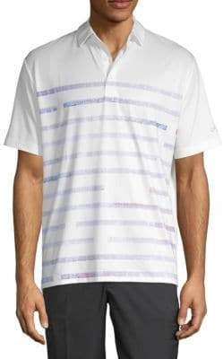 Callaway Graphic Striped Polo