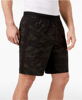 """Id Ideology Men's Reflective Print 9"""" Running Shorts, Created for Macy's"""