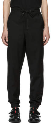 3.1 Phillip Lim Black Wool Cropped Lounge Pants