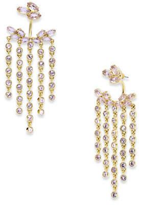 Jenny Packham Crystal Chain Chandelier Earrings