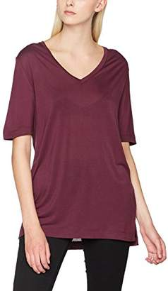 Selected Women's Sflyro 2/4 V-Neck Tee-Color T-Shirt,(Manufacturer Size: Small)
