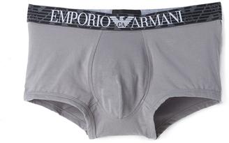 Emporio Armani Premium Pima Cotton Trunks $38 thestylecure.com