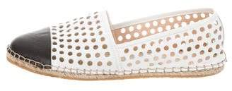 Loeffler Randall Perforated Leather Flats