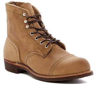 Red Wing Shoes Iron Ranger Suede Boot - Factory Second - Wide Width Available