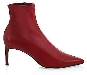 Rag & Bone Rag& Bone Rag& Bone Women's Beha Point-Toe Leather Ankle Boots