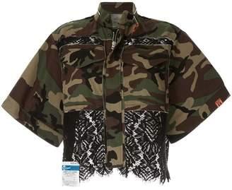 Puma Maison Yasuhiro lace camouflage jacket
