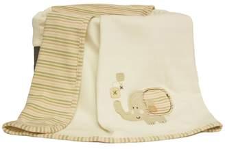 Natures Purest Nature's Purest Sleepy Safari Organic Receiving Blanket
