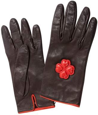 Paule Ka Leather Gloves