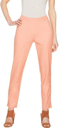 Halston H By H by Petite Studio Stretch Pull-on Ankle Pants