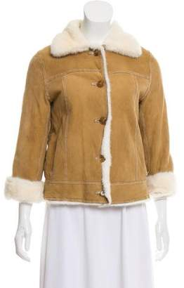 Michael Kors Shearling Short Jacket