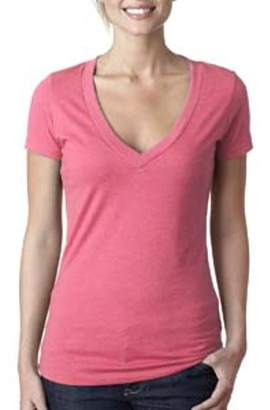 886c7abd53537 at Walmart.com · Next Level Apparel Next Level Ladies  CVC Deep V