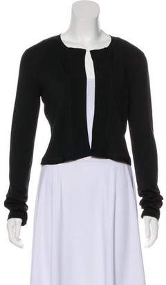 Narciso Rodriguez Knit Open Front Cardigan