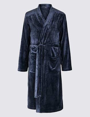 Marks and Spencer Fleece Dressing Gown with Belt