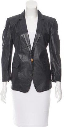 Boy. by Band of Outsiders Leather Notch-Lapel Blazer $125 thestylecure.com